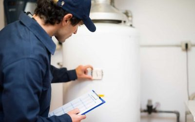 Do you call a plumber to fix a hot water heater?